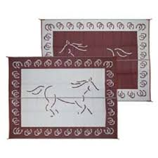 Rv Patio Mats Wholesale Rv Patio Mat Reversible Horse 9ft X 12ft Burgundy Huge Rv Size