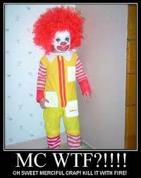 Ronald Mcdonald Halloween Costume Halloween Costume Bad 360jokes