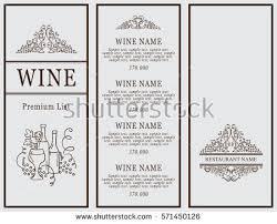Designs Of Menu Card Restaurant Menu Template Stock Images Royalty Free Images