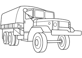 jet truck coloring page military troop transport truck coloring page free printable