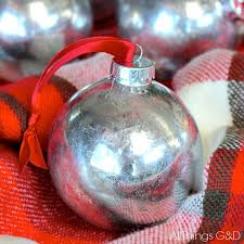 faux mercury glass ornaments diy all things g d