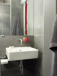 Modern Sinks For Bathrooms by Modern Industrial Grey White Bathroom Red Tap By Marcel Wanders