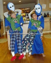 Alien Halloween Costume Coolest Homemade Monster And Alien Abduction Costume Ideas And