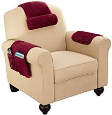 arm chair cover armchair covers with pockets set of 2 burgundy