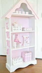 Kids Bookcase White by Children U0027s Cottage Dollhouse Bookcase House Bookshelf Custom Made