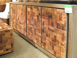 scrap wood wood cabinet