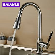 Brushed Brass Kitchen Faucet by Online Get Cheap Polished Nickel Handles Aliexpress Com Alibaba