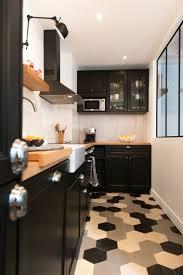 carrelage cuisine damier noir et blanc beau carrelage cuisine damier noir et blanc et carrelage design noir