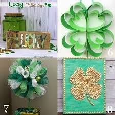 s day decorations st centerpiece ideas easy craft ideas