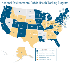 United States Radon Map by Nm Epht What Is Environmental Public Health Tracking