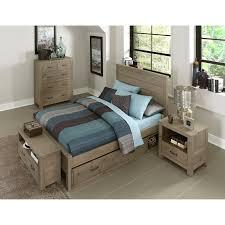 Full Size Bed With Trundle Ne Kids Highlands Alex Panel Bed Hayneedle