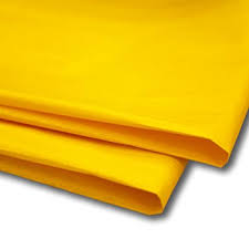 Amazon Gift Wrap Paper - 100 x bright yellow tissue paper gift wrap wrapping paper