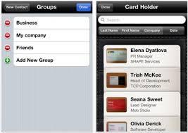 Business Card Capture App Business Card Reader 1 4 Adds Better Contact Management Macworld