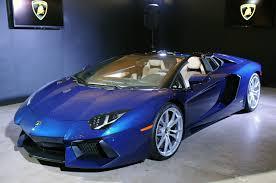 cars lamborghini blue lamborghini aventador roadster 15 blue lamborghini aventador