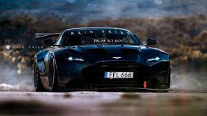 aston martin matte black aston martin db11 race car might look like this drivers magazine