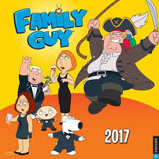 family guy family guy 2017 wall calendar 20th century fox 0676728031680