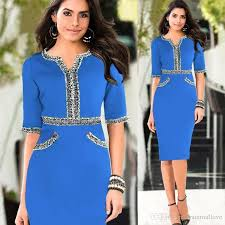 2017 2016 new office working dress cheap tunic pencil bodycon