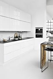 mad about scandinavian style kitchens black counters