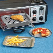 Pizza Stone For Toaster Oven Toaster Oven Pizza Pan Crisping Pan And Broiling U0026 Baking Pan