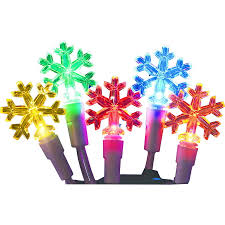 Outdoor Christmas Star Lights by Shop Holiday Living 60 Count 19 67 Ft Constant Multicolor