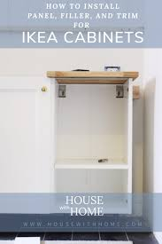 ikea kitchen cabinet filler panels how to use filler panels with your ikea cabinets house