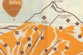 Big Sky Montana Trail Map by Behold Big Sky Montana U0027s Ski Trail Map From 1976 Curbed Ski