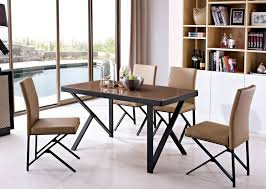 oak wood table legs stainless steel leg oak wood top dining table in dining tables from