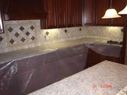 kitchen design red backsplash tile choosing countertops one wall