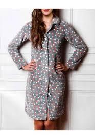 robe de chambre moderne femme chemise de nuit boutonnée 7 hemise de nuit boutonnée à