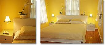 bedroom with yellow paint color ideas for this yellow