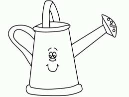coloring page garbage in the trash can tin can patent coloring