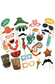 photo booth prop photo booth prop tropical theme party masks with sticks