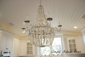 diy shell chandelier simple nature decor