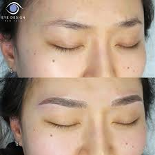 How To Arch Eyebrows Microblading
