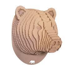 trophee elephant carton planar cardboard sculpture google search crafting paper