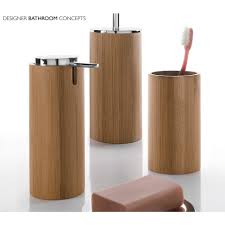why should you opt for bamboo bathroom accessories bath decors
