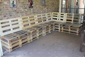 Outdoor Furniture Made From Wood Pallets Outdoor Couch Made From Pallets Picture The Outdoor Furniture Made