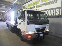 tow trucks for sale ud nissan 2000 century 21ft aluminum