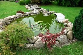 Landscaping Ideas Small Backyard 37 Backyard Pond Ideas U0026 Designs Pictures