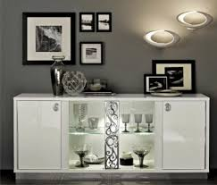 Black Gloss Buffet Sideboard Dining Room Buffets Kitchen Sideboards Server And Storage Units