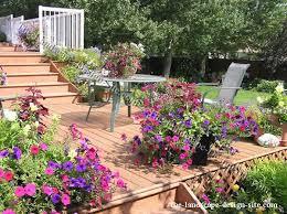 Deck Landscaping Ideas Deck Patio Planting Ideas
