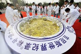 association cuisine largest serving of fried rice china breaks guinness records