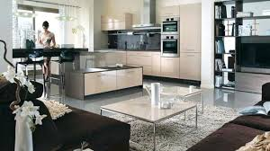 deco salon cuisine ouverte idée déco salon cuisine ouverte idée de modèle de cuisine