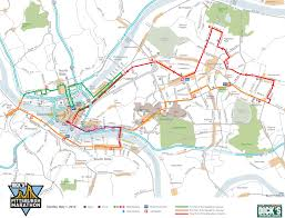 Boston Marathon Route Map by Whirl U0027s 2016 Pittsburgh Marathon Spectator Guide Whirl Magazine