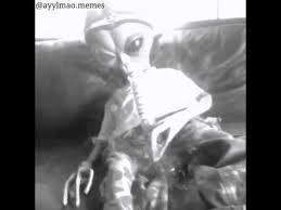Stoned Alien Meme - alien smoke weed youtube