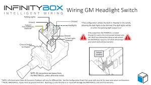 headlight switch infinitybox how to connect mastercell inputs your