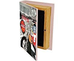 Deco Vintage Americaine Set Ensemble Lot 4 Boites Box Rangement Gigogne Livre Rétro Déco