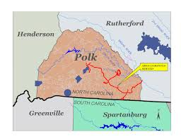 Map Of South Carolina Counties Polk County Weighs 75 Year Transfer Of Its Water System To A South