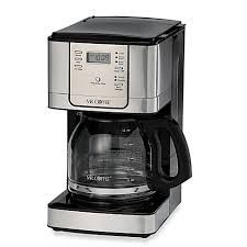 Bed Bath And Beyond Cuisinart Coffee Maker Mr Coffee Jwx Series 12 Cup Programmable Stainless Steel Coffee