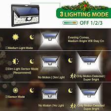 litom solar lights outdoor litom solar lights outdoor 24 leds super bright motion sensor